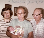 4 generations of Frei . . .